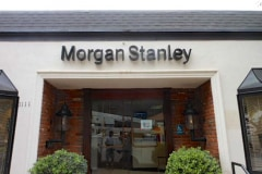 Morgan Stanley in Santa Barbara, Dimensional Letter Sign & One of Our National Sign Accounts