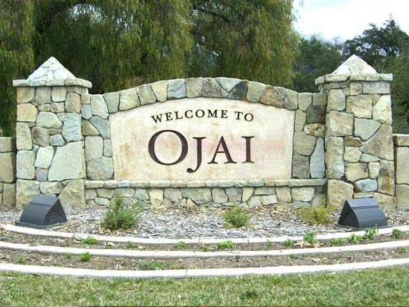 Welcome to Ojai Monument Sign by Dave's Signs