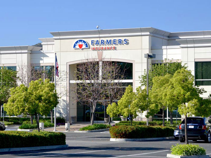 Channel Letter Sign National Sign Company Westlake Village Farmers Insurance