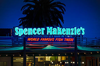 Spencer Makenzies Neon Sign