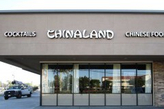 Chinaland Restaurant Channel Letter Sign in Oxnard, CA