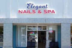 Elegant Nails & Spa Channel Letter Sign in Goleta, CA