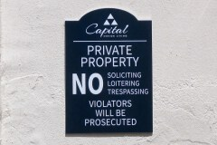 Captial Senior Living Custom Outdoor Wall Sign
