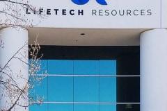 Lifetech Resources - Corporate Building Channel Letter Sign