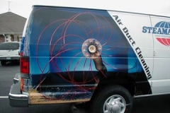 Air Duct Cleaning Van Vehicle Graphics