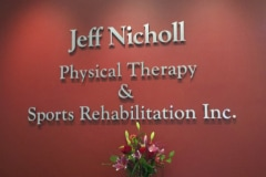 Jeff Nicholl Interior Office Sign