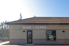 Bank of the Sierra Channel Letter Sign