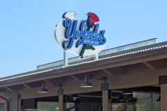 Yolanda's Mexican Cafe Channel Letter Rooftop Sign in Ventura, CA