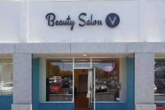 Beauty Salon V Channel Letter Sign, Goleta, CA
