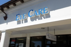 Carpinteria Eye Care Channel Letter Sign
