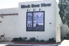 Black Bear Diner Channel Letter & Window Graphic Signs in Simi Valley CA