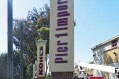 Pier 1 Dimensional Letter Monument Sign, Ventura, CA