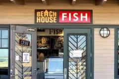 Beach House Tacos Dimensional Letter Sign, Ventura, CA