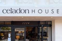 Celadon House Dimensional Letter Sign, Santa Barbara, CA