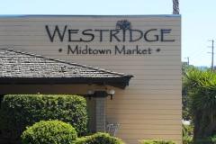 Westridge Midtown Market Dimensional Letter Sign