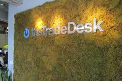 TheTradeDesk Interior Office Lobby Sign, Ventura, CA