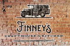 Finney's Crafthouse & Kitchen Hand-Painted Sign in San Luis Obispo, CA
