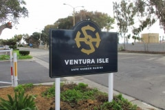 Ventura Isle Monument Sign in Ventura, CA