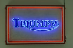 Triumph Interior Neon Sign