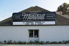 Garry Marshall Theatre Custom Neon Marquee Sign in Burbank