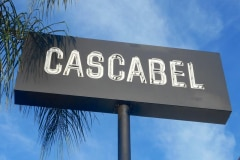 Cascabel Neon Pole Sign Los Angeles