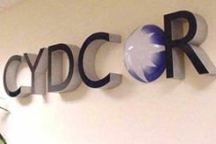 Cydcor Office Lobby Sign Agoura Hills, CA