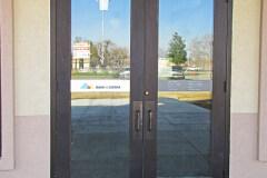 Bank of the Sierra Custom Graphic Door Sign
