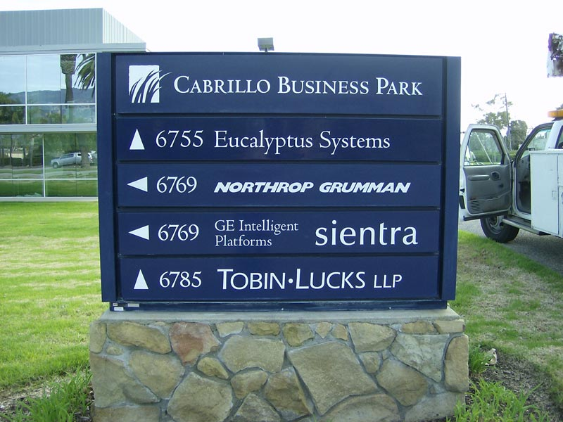 business park signs