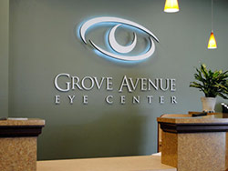 Custom Sign Design Grove Avenue