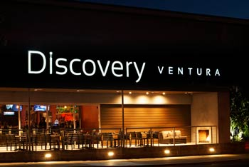 Discovery Ventura Channel Letter Sign
