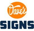Dave's Signs Logo