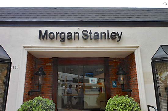 Morgan Stanley National Sign Account Channel Letter Sign